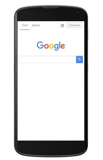 site responsive design sur smartphone