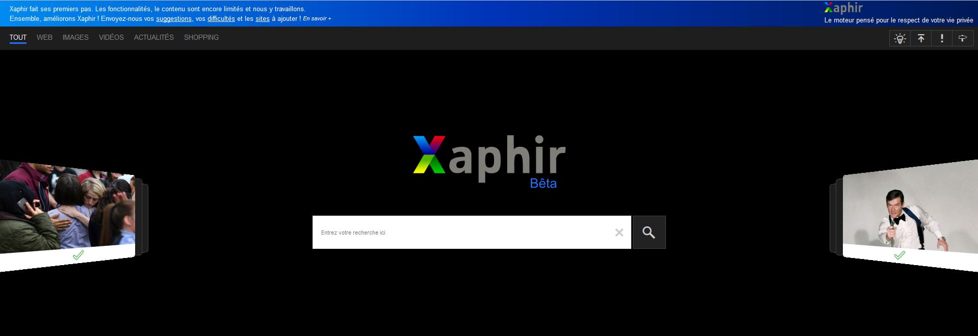 interface de Xaphir